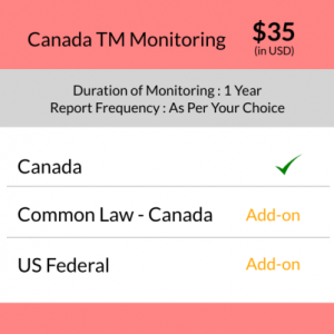 Canada Trademark Monitoring