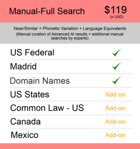 Manual-Full Search US TM Searching