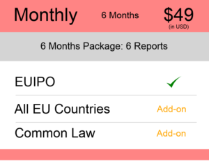 Monthly – 6 Months Europe TM Monitoring
