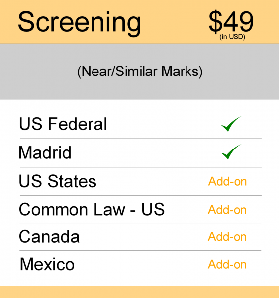 Screening Search – US TM Searching (1)