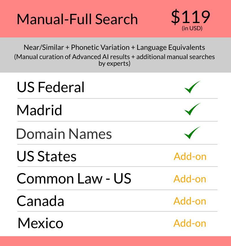 US - Manual Full Search