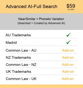 Advanced AI–Full Search AUS & NZ TM Searching