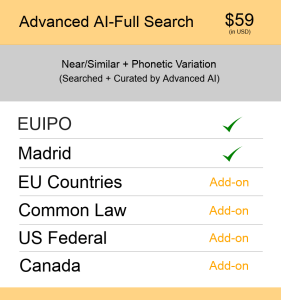 Advanced AI–Full Search Europe TM Searching