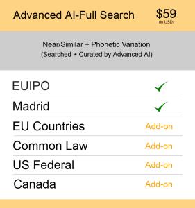 Advanced AI–Full Search Europe TM Searching