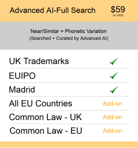 Advanced AI–Full Search UK TM Searching