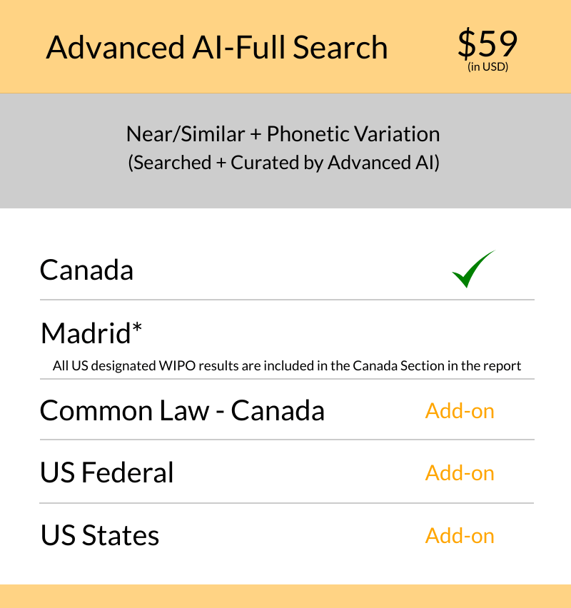 Canada - Advanced AI Full Search