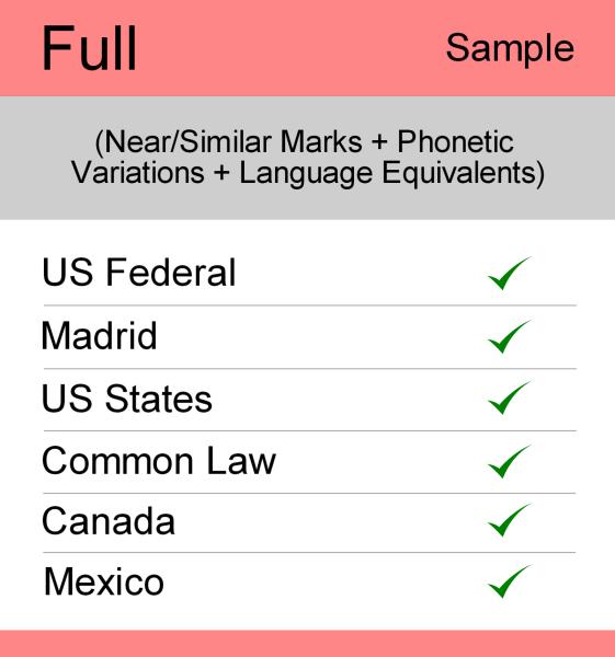 Full Search – Sample Report