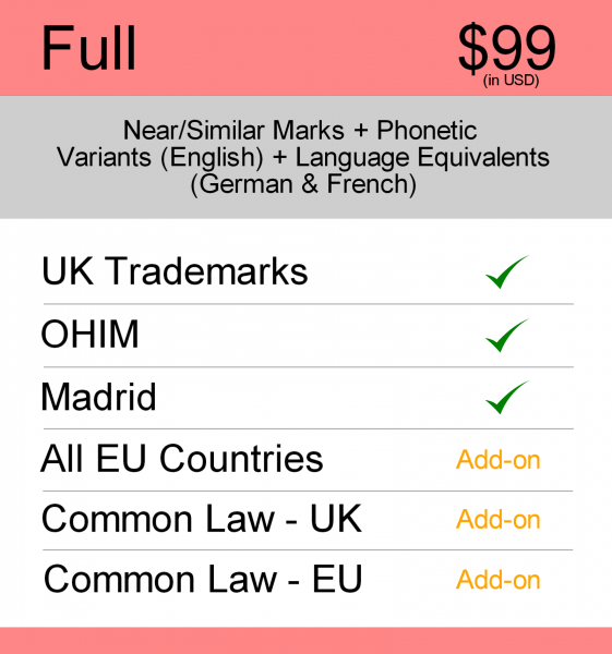 Full  Search – UK TM searching
