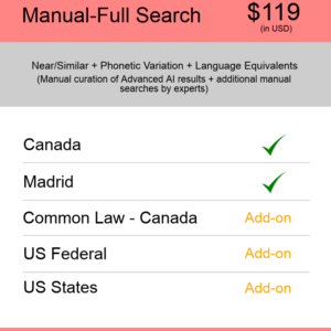 Manual-Full Search Canada TM Searching