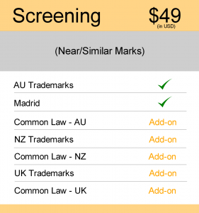 Image for Screening Search : AUS & NZ TM Searching