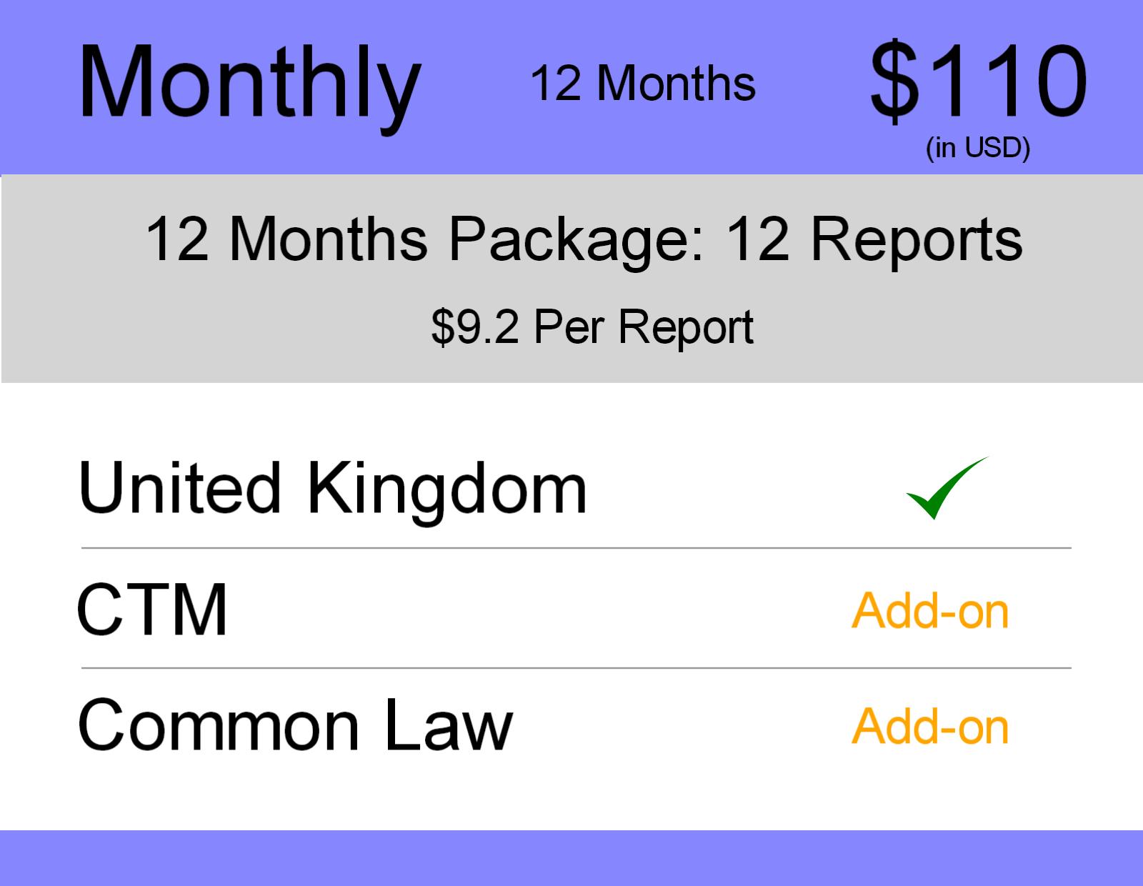 United Kingdom Trademark Search Service - Bonamark