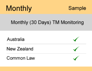 Image for Monthly : AUS & NZ TM Monitoring – Sample Report