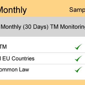 Image for Monthly : Europe TM Monitoring - Sample Report