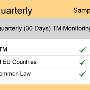 Image for Quarterly : Europe TM Monitoring - Sample Report