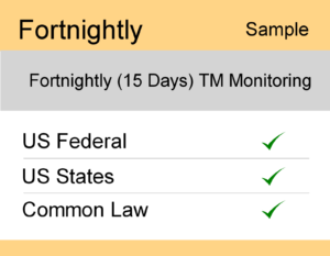 Image for Fornightly : Fortnightly : US TM Monitoring - Sample Report