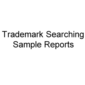 Trademark Searching Sample Reports