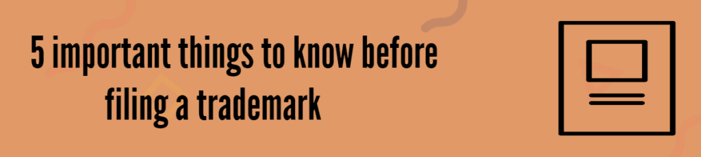 Trademark Filing Facts