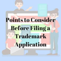 Points to Consider Before Filing a Trademark Application