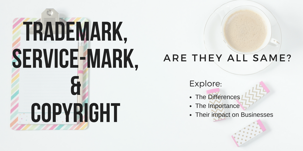 Trademark, Service-mark, And Copyright