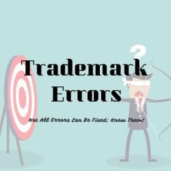 Trademark Error