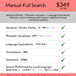 Japanese Full Trademark Search
