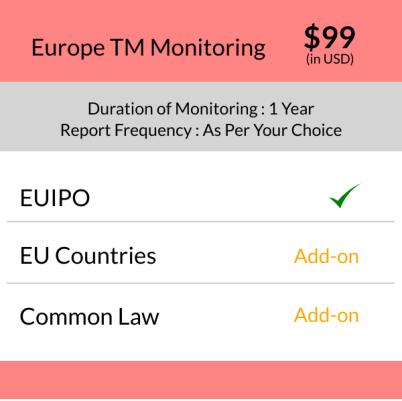 Europe-trademark-monitoring-price