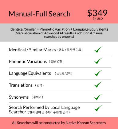 Korea-manual-trademark-search-price